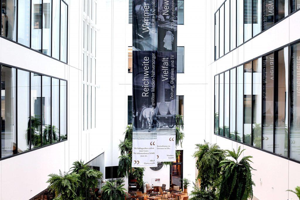 büroflächen schaffen daimler ihre ordination in den büroflächen promenaden galerien